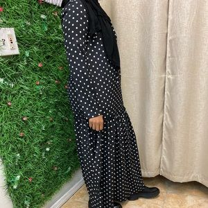 Dresses & Skirts - Polka dot Maxi Dress